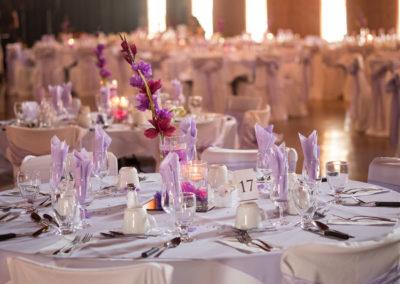 Table décoré (mariage et  réception Granby) Érabliere la Grillade Granby