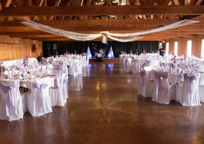 Location de salle de mariage (mariage et  réception Granby) Érabliere la Grillade Granby